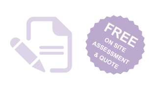 Free on site assessment and quote icon - Styleclean